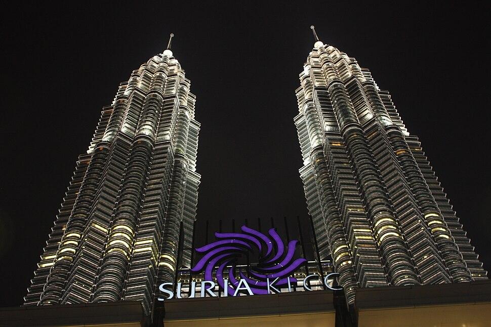 Suria klcc petronas twin towers