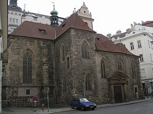 Jan Sviták - Jan Sviták was murdered in front of the Church of St. Martin in the Wall, Prague.