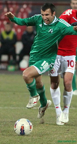 Djakov in actie namens PFK Ludogorets in 2011