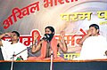 Swami Ramdev giving verbal instructions to the students at the Yoga and Pranayam Shivir organised by the All India Vaishya Federation and inaugurated by the Vice President Shri Bhairon Singh Shekhawat, in New Delhi on October 07.jpg