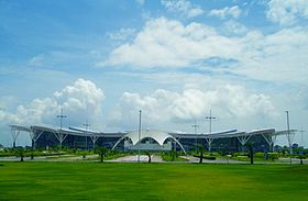 Swami Vivekananda Airport Raipur.JPG