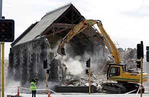Sydenham Heritage Church - Sydenham Heritage Church demolition