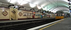 Rail transport in New South Wales - Underground platforms at Museum railway station