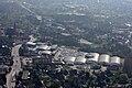 Syke Einkaufszentrum im Hachepark Famila Aldi usw Kirche B6 IMG 0717.jpg