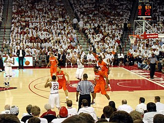 University of Arkansas - The 2012–13 Razorbacks in action against Syracuse