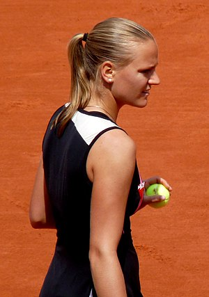 Ágnes Szávay - Szávay at the 2009 French Open