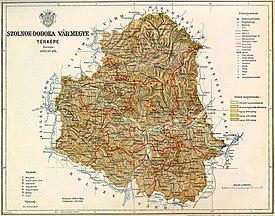 Szolnok-Doboka county map.jpg