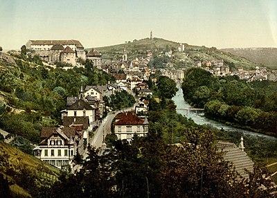 Tübingen mit Österberg u Neckarhalde vom Schlossberg (kol Fotografie).jpg