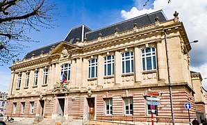 Le Tribunal de Belfort sous une journée printanière, 2018