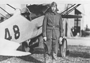 THOMAS-MORSE R-5 RACER and Clayton Bissell USAF