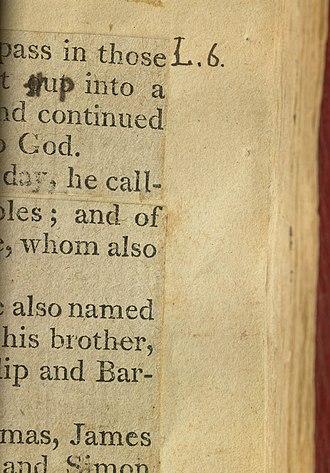 Jefferson Bible - Image: TJB Out Up Page 6
