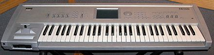 Given that Too Many Voices is a grime-induced record, most of the sounds used come from the Korg Triton synthesizer. TRITON.jpg