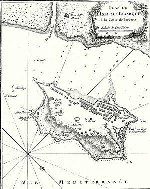 Tabarka - Fort Diagram