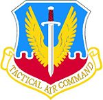 Blason du Tactical Air Command Command à partir de 1947