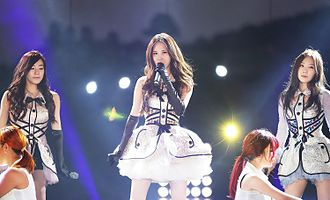 Girls' Generation-TTS - Image: Tae Ti Seo at Suncheon Bay Garden Expo International K POP Concert 2013 02