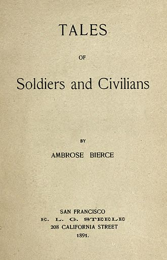 Tales of Soldiers and Civilians - First edition title page