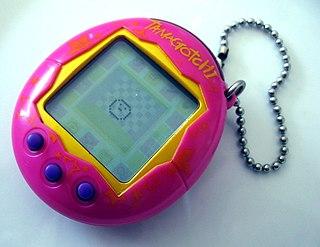 Tamagotchi handheld digital pet