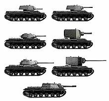 Kliment Voroshilov tank - Wikipedia