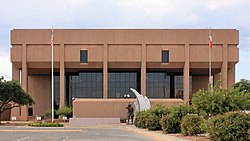 Taylor County Texas Courthouse 2015.jpg