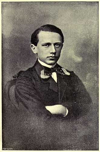 Pyotr Ilyich Tchaikovsky and The Five - Tchaikovsky in his teens.