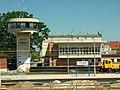 Tczew, nádraží, kontrolní stanoviště.JPG