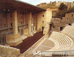 Sagunto Roman theatre - Image: Teatre romà Sagunt