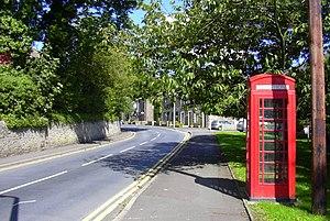 Sabden - Image: Telephone Box, Whalley Road, Sabden, Lancashire geograph.org.uk 2030892