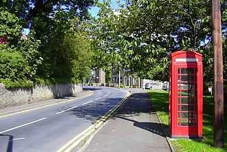 Sabden - Image: Telephone Box, Whalley Road, Sabden, Lancashire geograph.org.uk 2030892