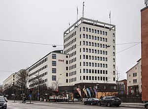 STIM - The office in Stockholm