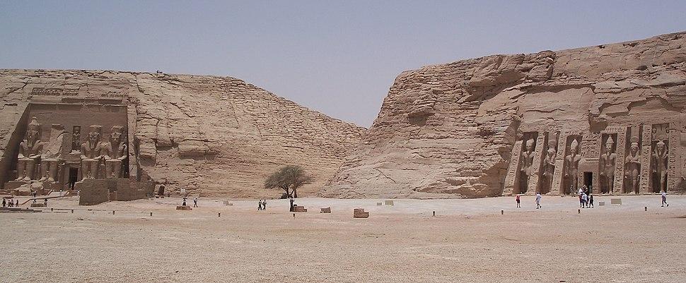 Temple Ramesses II Abu Simbel Panoramic