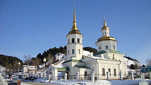 Church of the Intercession of the Most Holy Mother of God in Khanty-Mansiysk - Image: Temple of Veil of the Most Holy Mother of God