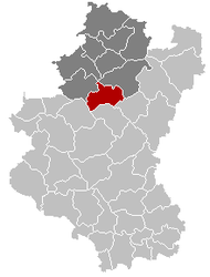 Tenneville Luxembourg Belgium Map.png