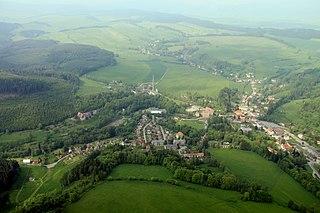 Teplice nad Metují Town in Hradec Králové, Czech Republic