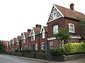 Terraced houses on Briston Road (B1354) - geograph.org.uk - 953251.jpg