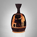 Terracotta squat lekythos (oil flask) MET DP160860.jpg