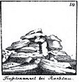Teufelskanzel von Rachlau, Zeichnung von Karl Benjamin Preusker 1844.jpg