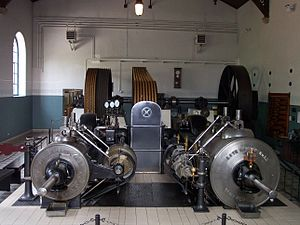 Bocholt textile museum - Heuveldop steam engine