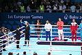 Teymur Mammadov at the awarding ceremony of the 2015 European Games 5.JPG