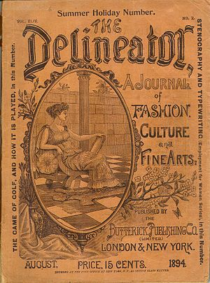 Butterick Publishing Company - The Delineator, August 1894 cover