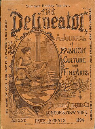 The Delineator - The Delineator, August 1894 cover