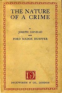 The Nature of a Crime cover