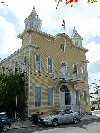 The Armory (Key West) - The old Armory on White Street