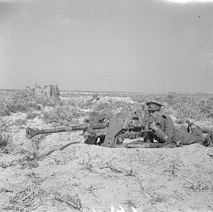 2.8 cm sPzB 41 - sPzB 41 captured by the British Army, 1942