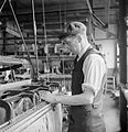 The British Cotton Industry- Everyday Life at a British Cotton Mill, Lancashire, England, UK, 1945 D25991.jpg
