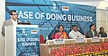 The CEO, NITI Aayog, Shri Amitabh Kant addressing at the launch of the Ease of Doing Business Report, in New Delhi.jpg