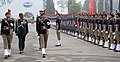 The Chief of Army Staff, General Bipin Rawat reviewing the NCC Republic Day Parade 2017, in New Delhi on January 17, 2017.jpg