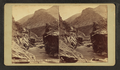 The Devil's Gate, Weber Canon, by Weitfle, Charles, 1836-1921.png