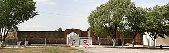 Russian 102nd Military Base - The main gate