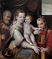 The Holy Family and Saint Stephen, by Luca Longhi.jpg