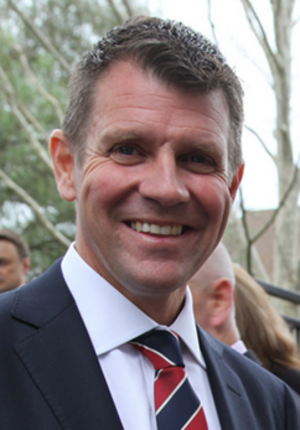 Second Baird ministry - Image: The Honourable Mike Baird MP